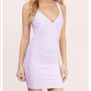 Lavender Bodycon dress